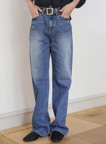 vintage long denim pants