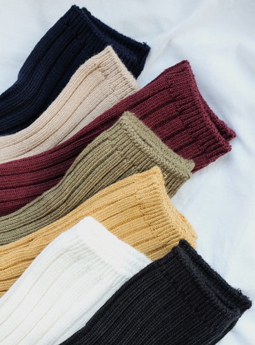 7color ankle socks