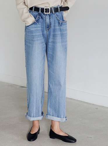 loosy wide denim