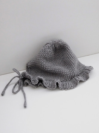 string knit hat
