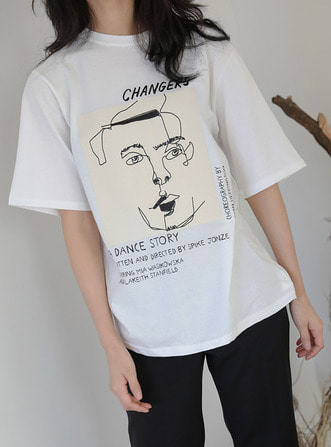 'changers' drawing t-shirts
