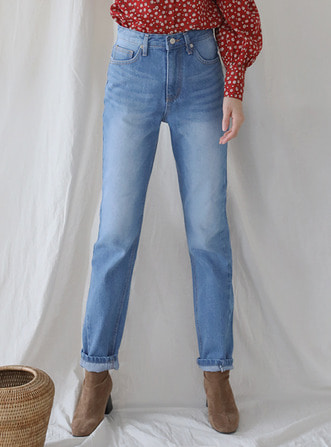 highwaist semi baggy jean