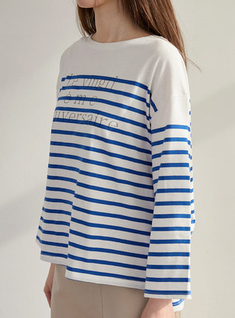 'le vingti' stripe top