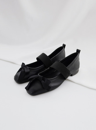 ribbon bandding flat shoes