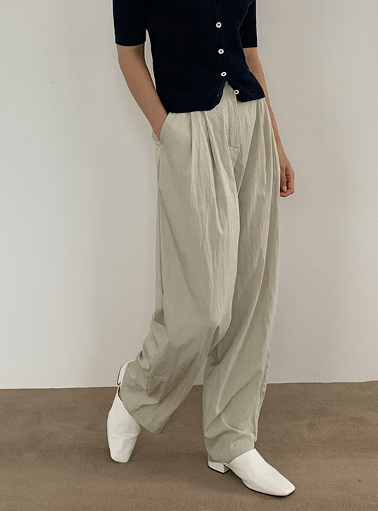 Fresh Crispy Wide Pants (2color)
