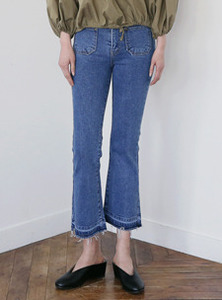 elle cutting denim
