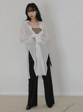 side slit long shirts